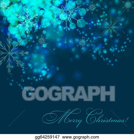 abstract christmas and new year background vector illustration