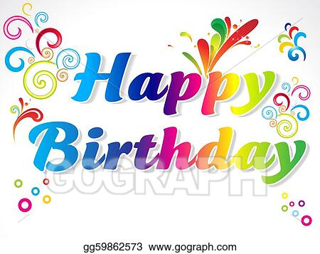 Drawing abstract colorful happy birthday card clipart drawing abstract colorful happy birthday card bookmarktalkfo Choice Image