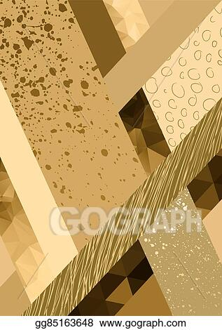 Vector Art Abstract Geometric Background Pastel Color
