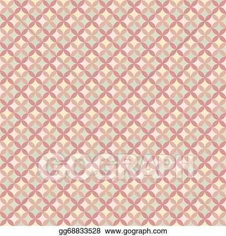 Vector Art Abstract Geometric Floral Pattern Wallpaper