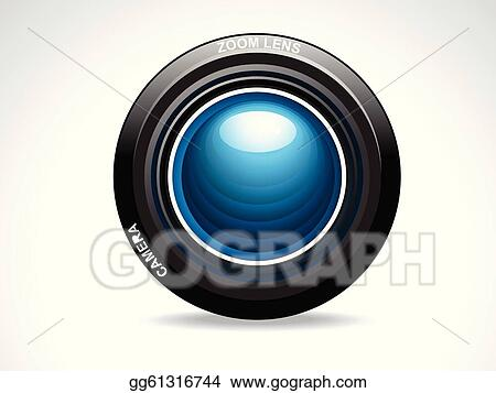 Abstract Camera Lens Art
