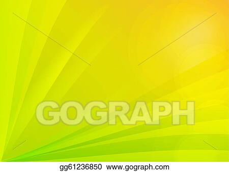 Stock Illustration Abstract Green And Yellow Background