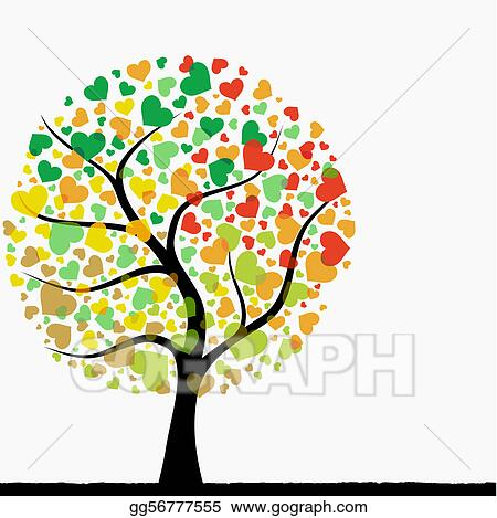 Heart Tree Clip Art Royalty Free Gograph
