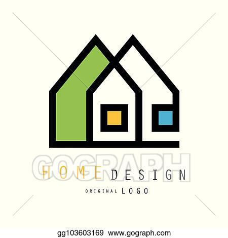 Eps Illustration Abstract Houses For Logo Of Construction Or