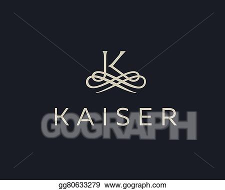 Eps Illustration Abstract Monogram Elegant Flower Logo