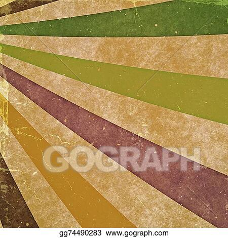Abstract Rays Vintage Backgrounds With Old Cardboard Texture