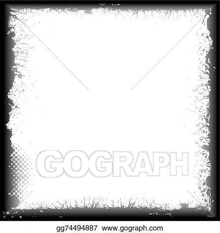 Vector Illustration - Abstract rusty frame. Stock Clip Art ...