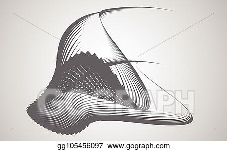 Vector Art - Abstract shape transformation background vector