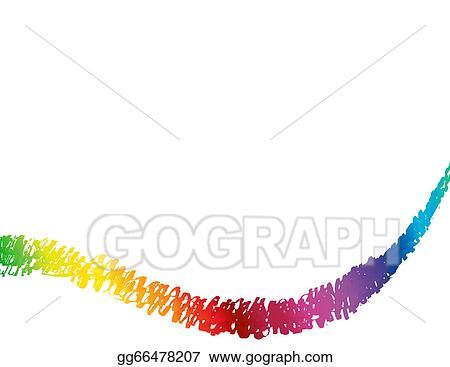 e3e090a59 EPS Vector - Abstract spectrum background. Stock Clipart ...