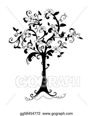 Attractive Abstract Spring Tree