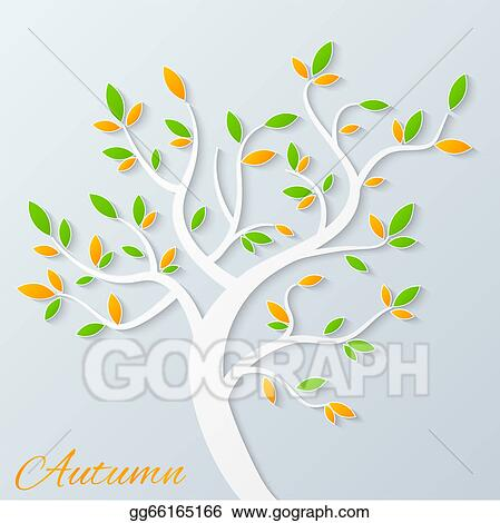 Vector Stock Abstract Vector Tree Clipart Illustration