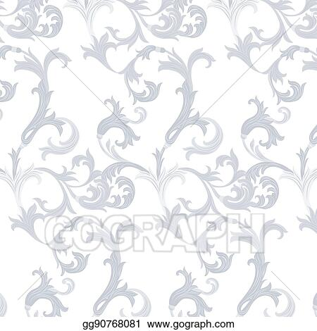 vector stock acanthus leaf ornament pattern clipart illustration gg90768081 gograph https www gograph com clipart license summary gg90768081