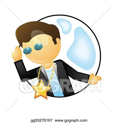 stock illustration actor clipart illustrations gg55276167 gograph rh gograph com actor clipart free action clip art free