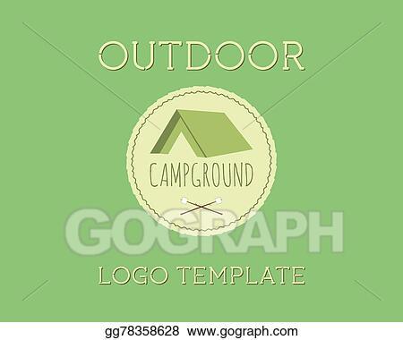 Vector Illustration - Adventure outdoor tourism travel logo