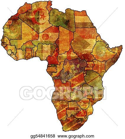 africa map art stock illustration africa map clip gg54841658 10025