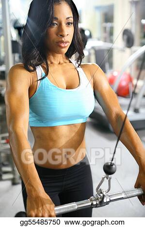 Female african muscle women