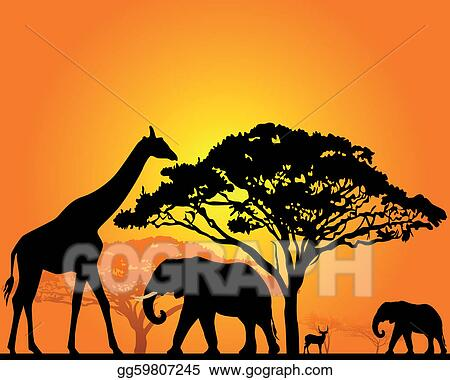 African Animal Clip Art Royalty Free Gograph