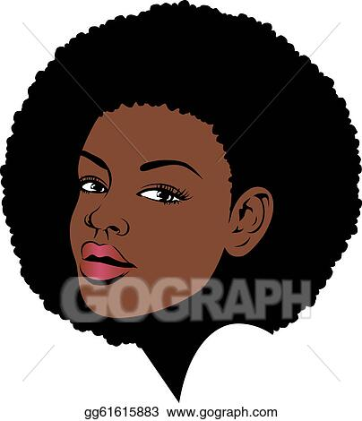 afro hair clip art royalty free gograph rh gograph com afro clip in hair extensions afro clip in hair extensions uk
