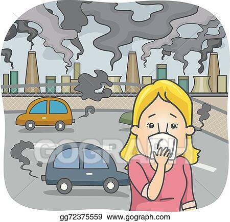 vector illustration air pollution stock clip art gg72375559 gograph rh gograph com Law Student Clip Art Reinstate Clip Art