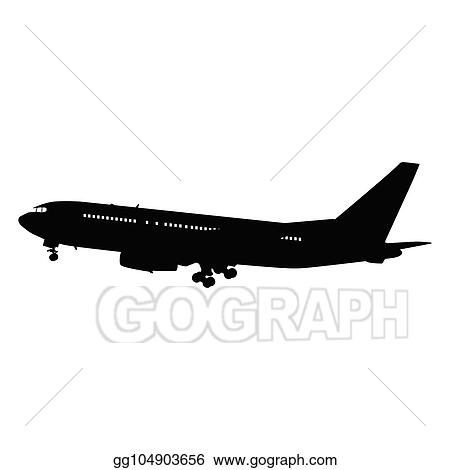Vector Stock Airplane Silhouette Clipart Illustration Gg104903656 Gograph Vector tagged as aeroplane vector silhouette, aircraft images, airplane clipart public domain, airplane silhouette clip art, airplane stock vector gograph