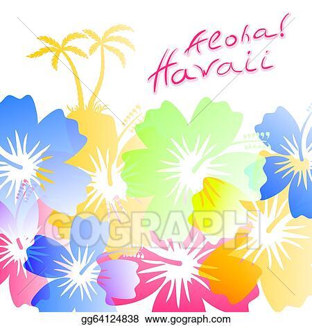 Hawaiian Background Clip Art Royalty Free Gograph