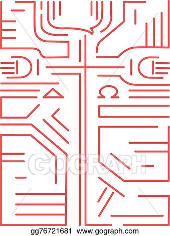 Eps Illustration Alpha And Omega Cross Vector Clipart Gg76721681