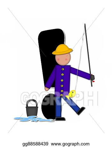 clipart alphabet children gone fishing exclamation stock rh gograph com gone fishing sign clip art gone fishing clipart free