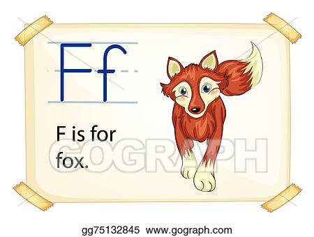 Vector illustration alphabet letter f eps clipart gg75132845 alphabet letter f altavistaventures Image collections