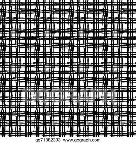Schwarz Mit Weissen Linien Abstraktes Muster 0