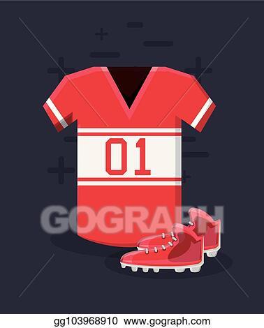 5e845c13f Vector Stock - American football design. Stock Clip Art gg103968910 ...