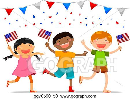 4th of kids july clipart pictures new photo