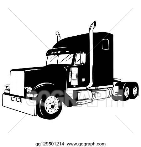 Clip Art Black And White Truck Royalty Free Gograph