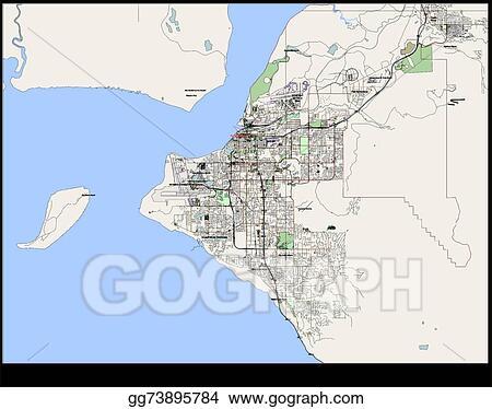Us Map Anchorage Alaska