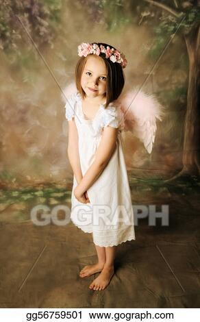 Picture Angel Girl Stock Photos Gg56759501 Gograph