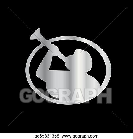 Vector Art Angel Moroni A Symbol Of Mormonism Eps Clipart