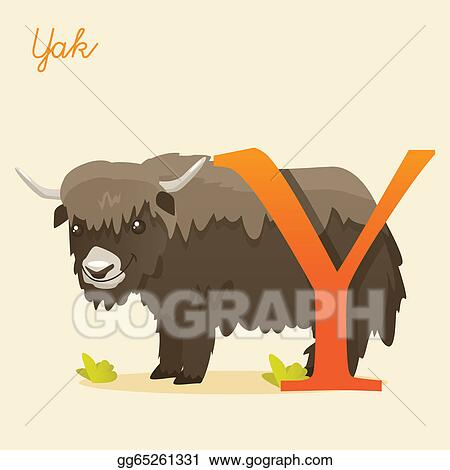 Drawing Animal Alphabet With Yak Clipart Drawing Gg65261331 Gograph