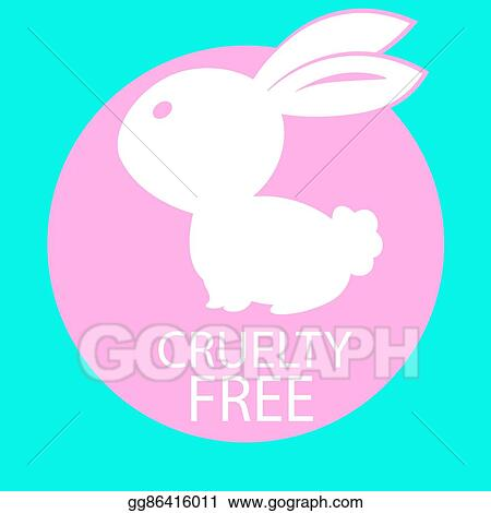 Vector Art Animal Cruelty Free Icon Design Animal Cruelty Free