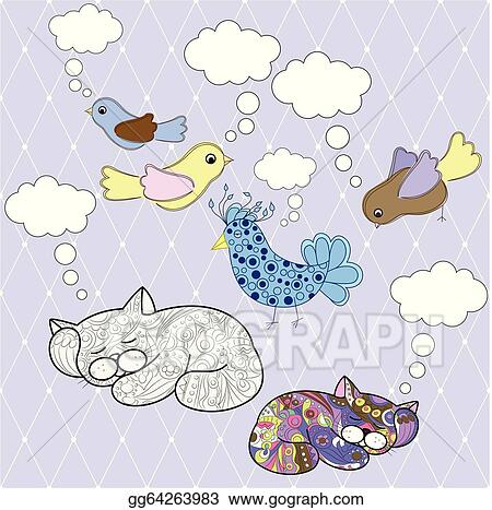 Vector Stock - Animals with speech bubbles  Clipart Illustration