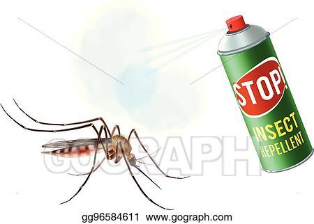 Anti Mosquito Spray Stock Illustrations – 605 Anti Mosquito Spray Stock  Illustrations, Vectors & Clipart - Dreamstime