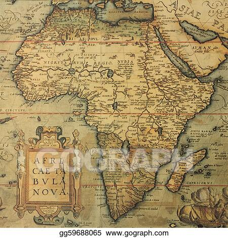 Picture Antique Map Of Africa Stock Photos Gg59688065 Gograph