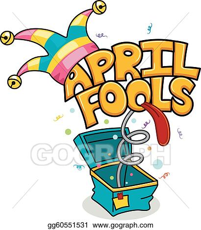 vector illustration april fools day eps clipart gg60551531 gograph rh gograph com april fools day 2017 clip art april fools day animated clip art