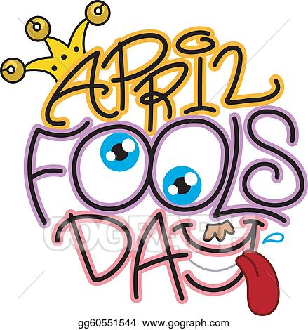 vector illustration april fools day eps clipart gg60551544 gograph rh gograph com april fools clipart black and white april fools clipart pictures
