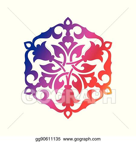 vector stock arabic oriental ornament stock clip art gg90611135 gograph https www gograph com clipart license summary gg90611135