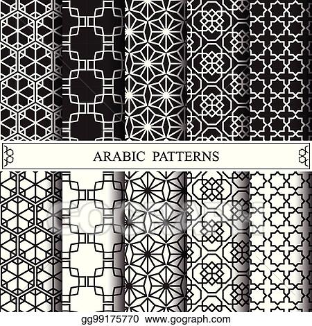 Vector Stock Arabic Vector Pattern Pattern Fills Web Page
