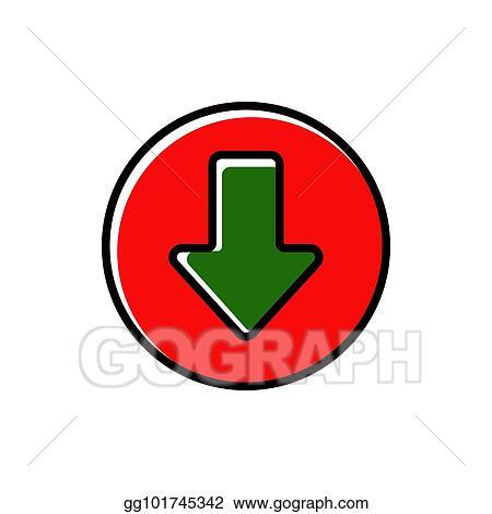 Clipart Arrow Down