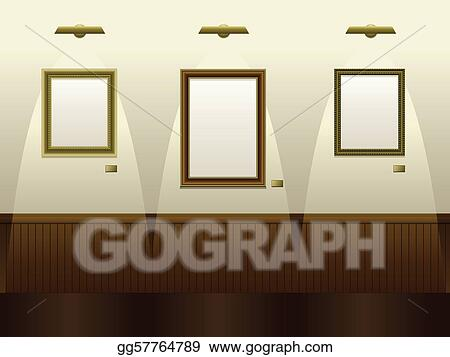 Vector Clipart - Art gallery. Vector Illustration gg57764789 - GoGraph