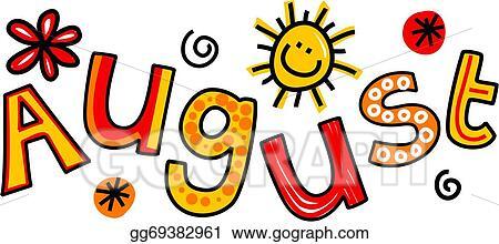 stock illustration august clip art clipart illustrations rh gograph com August Summer Clip Art august clip art images of people