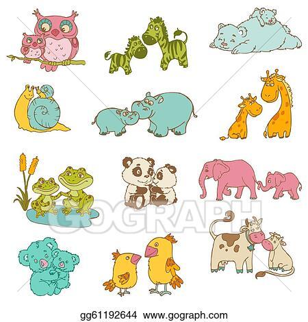 Baby Animal Clip Art Royalty Free Gograph