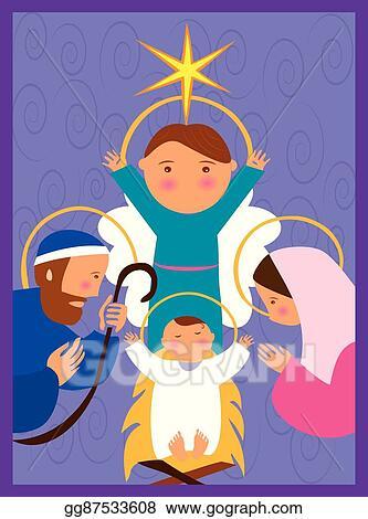 Baby Jesus In A Manger 10