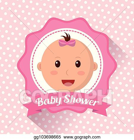 Vector Stock Baby Shower Boy And Girl Clipart Illustration